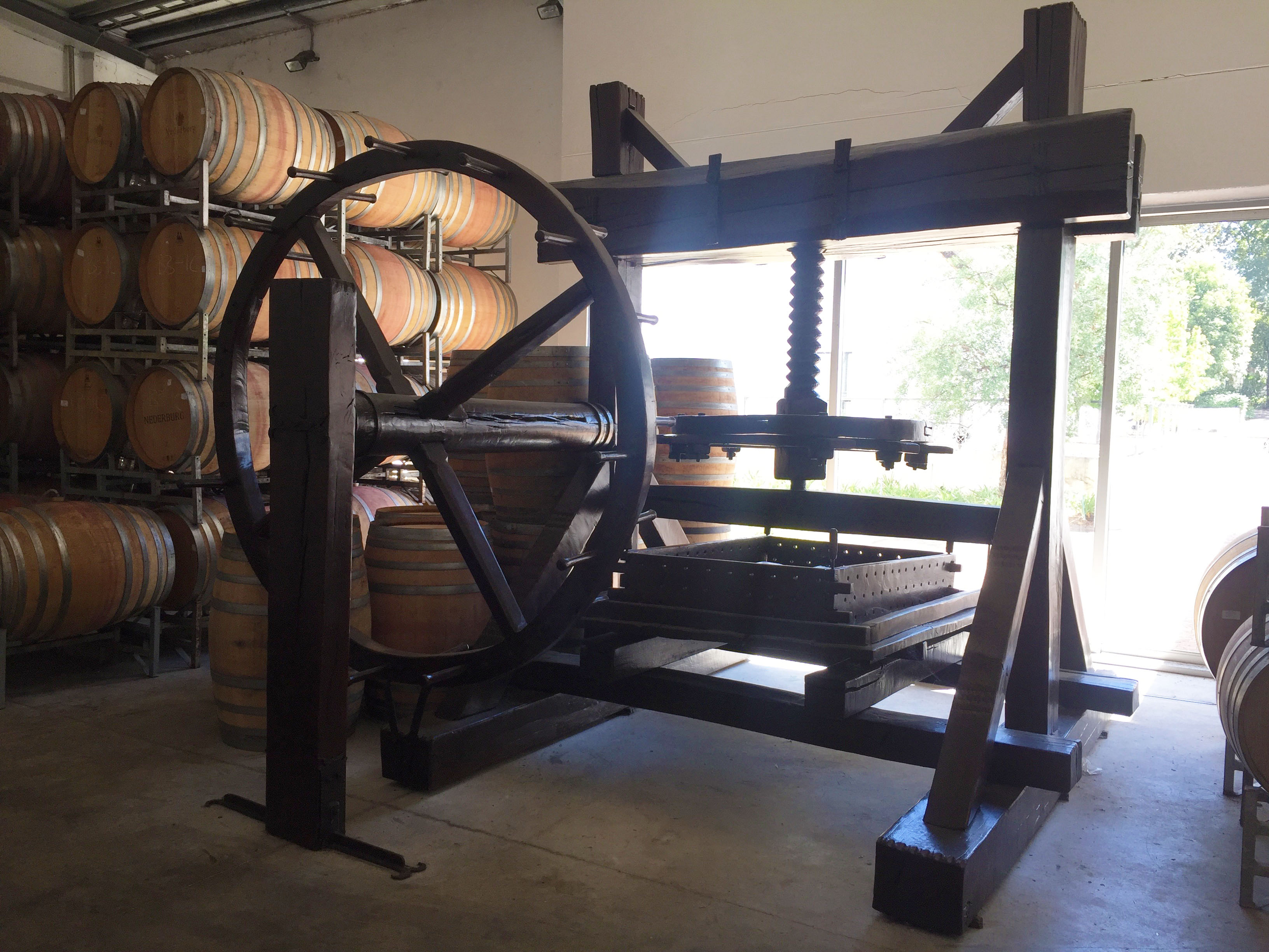 The First Wine Press