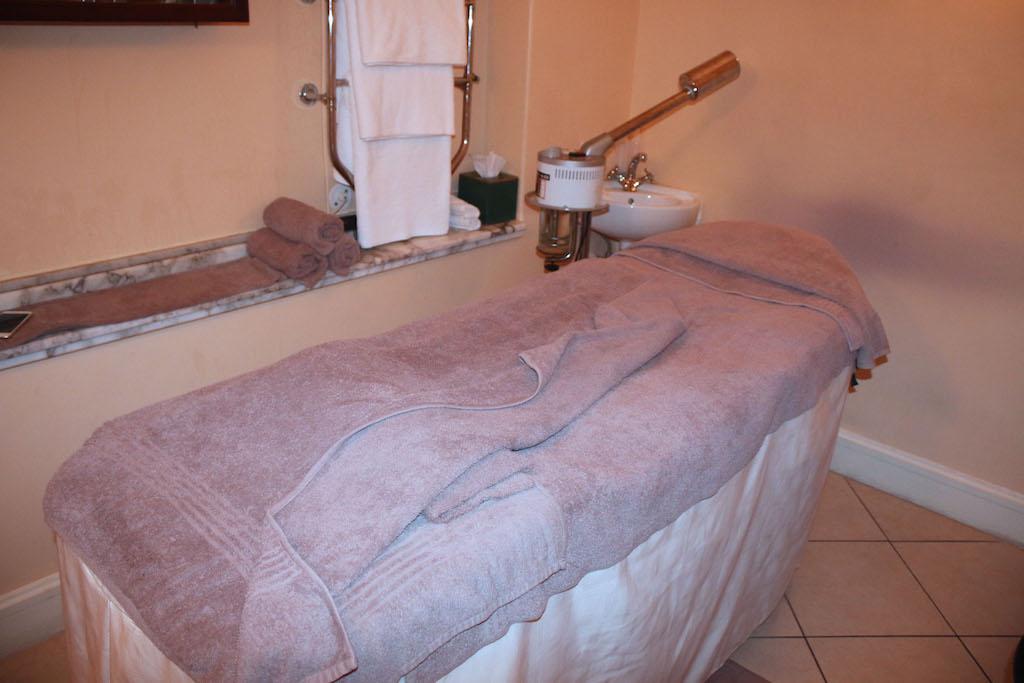 Treatment room at Camelot