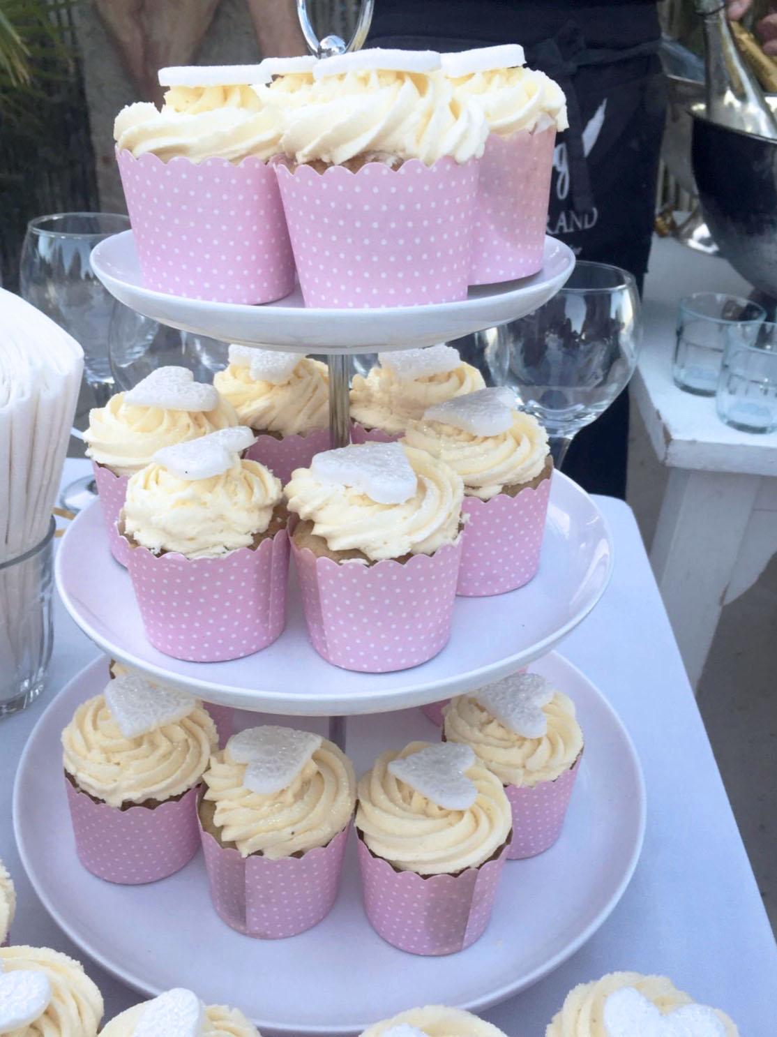 Vanilla Cupcake Tiers