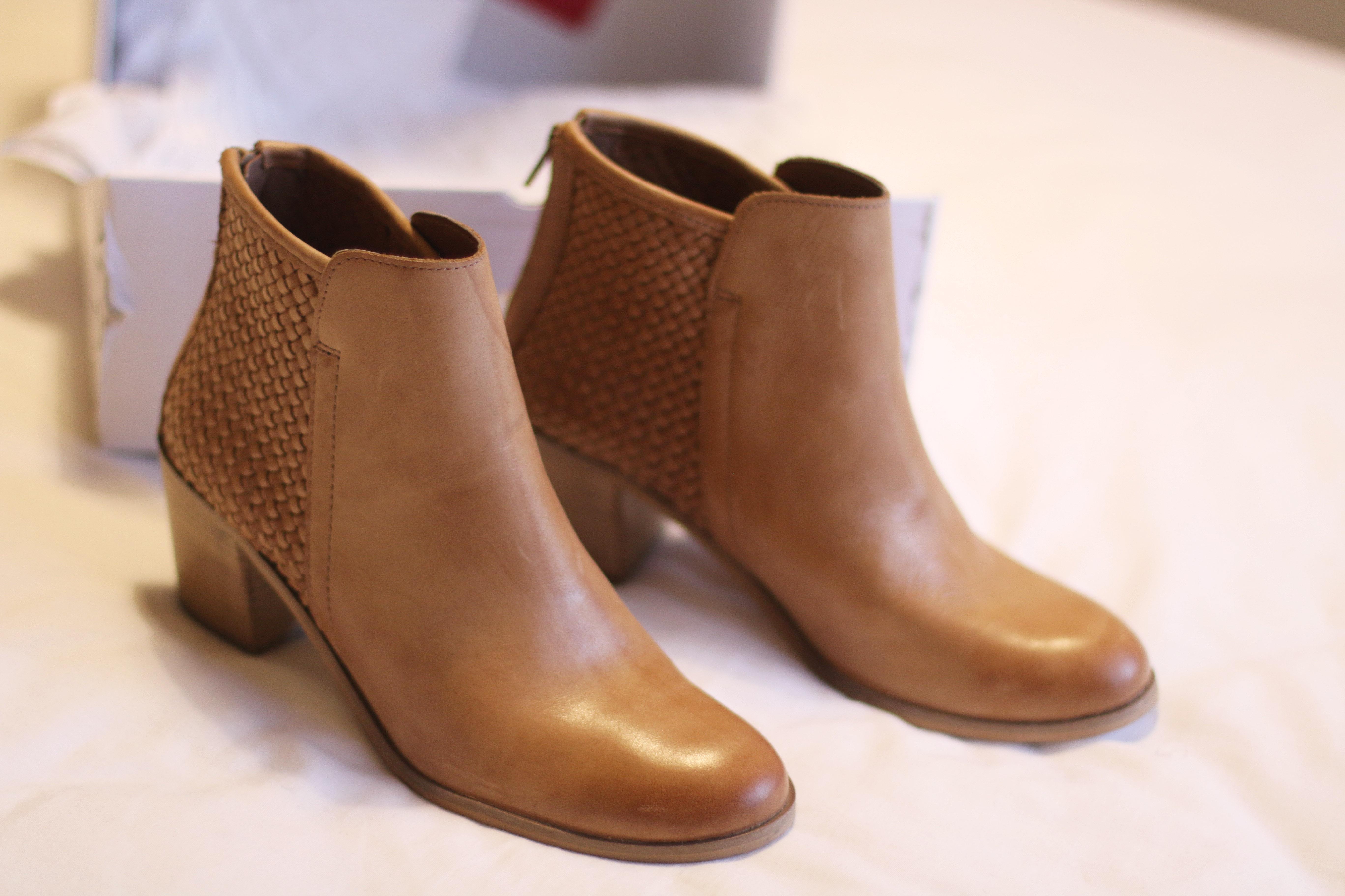 Aldo Tan Ankle Boots Bailey Schneider
