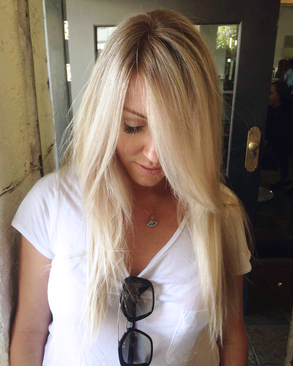 Balayage vanille - Meches blondes 2016 ...