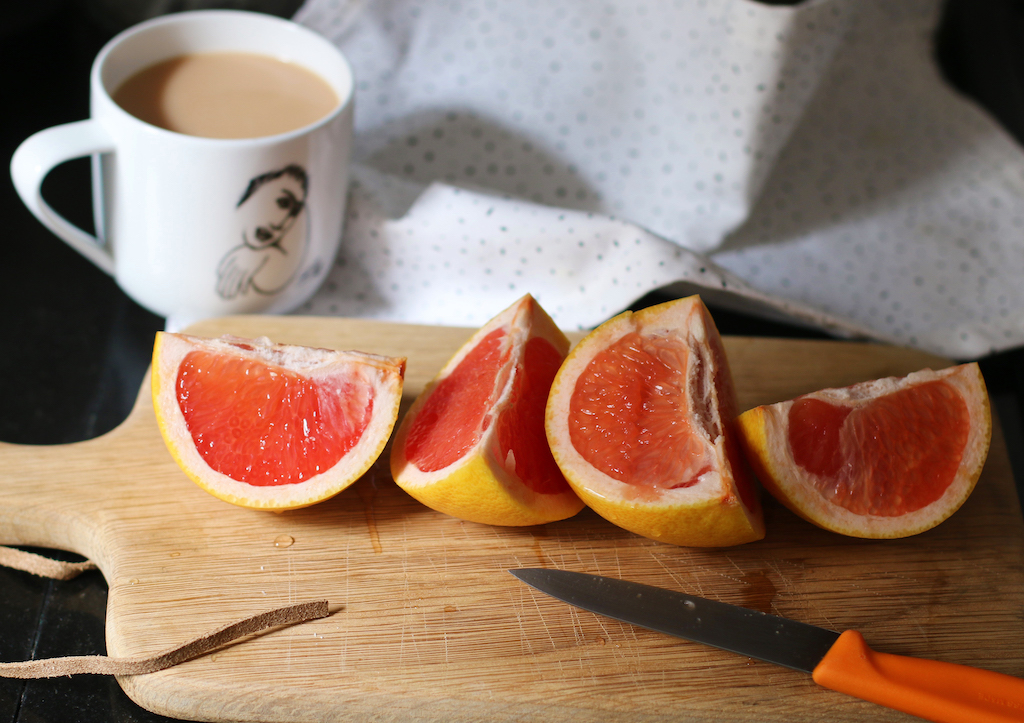 Grapefruit and Tea
