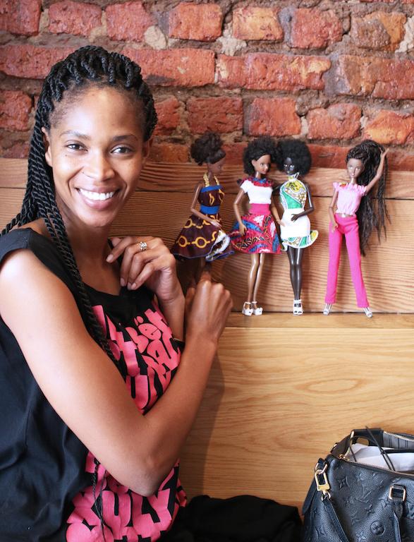 Mala Bryan and dolls