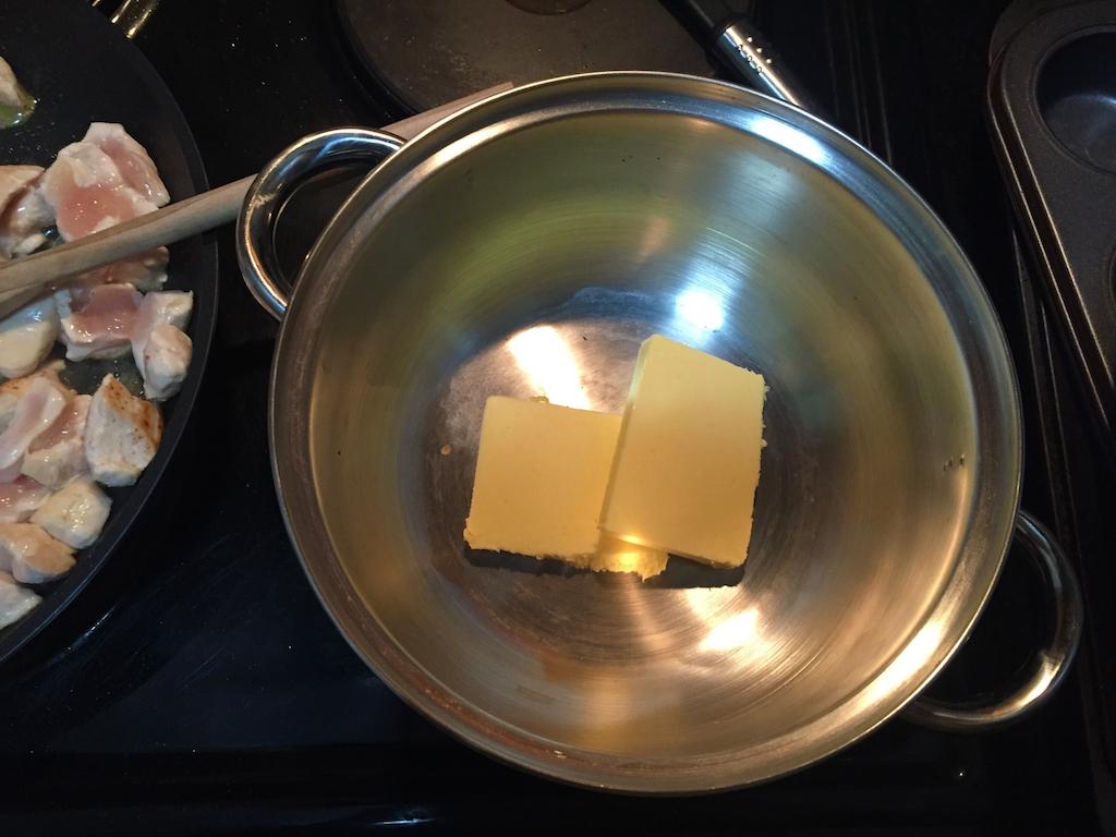 Butter for mushroom sauce