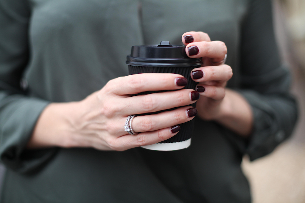 Coffee and mani