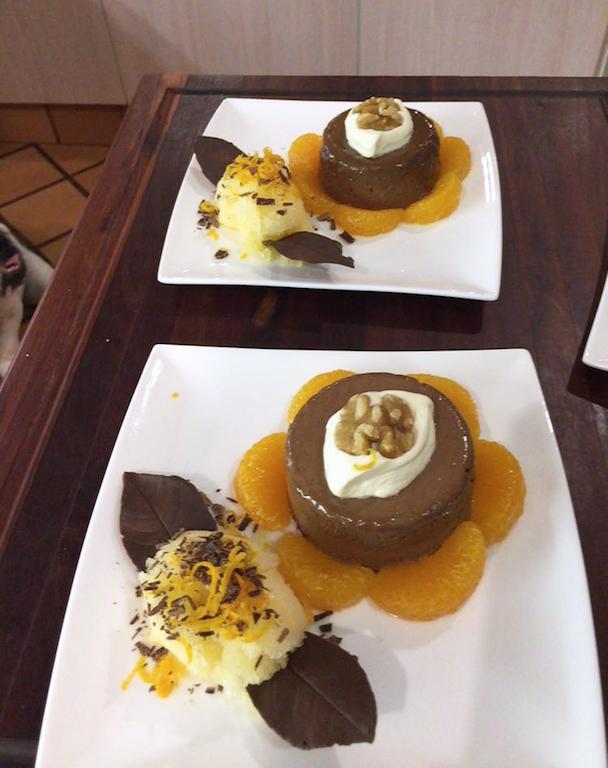 Moms dessert and Duke