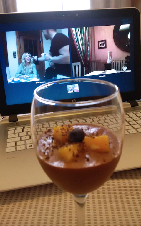 Skype and mousse