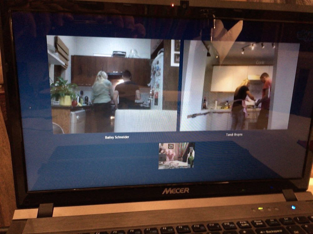 Skype from mom and dad