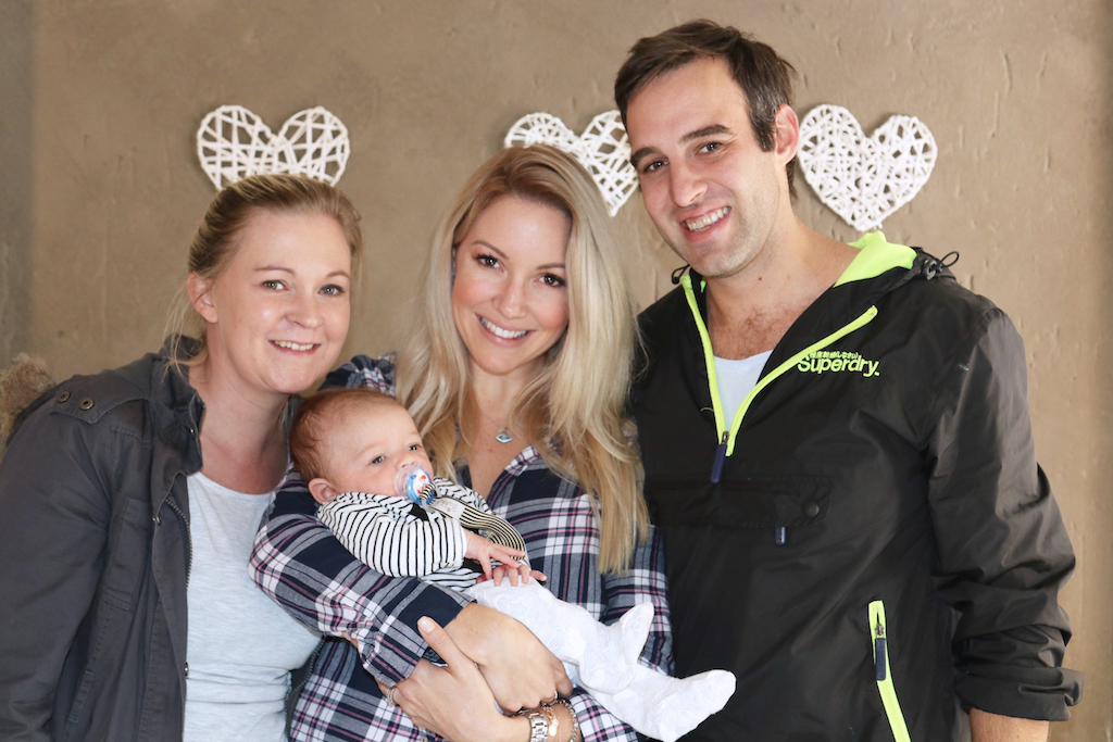 Bailey and Du Plessis family