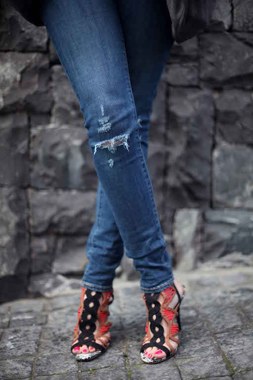 Bailey Schneider Levi jeans River Island shoes