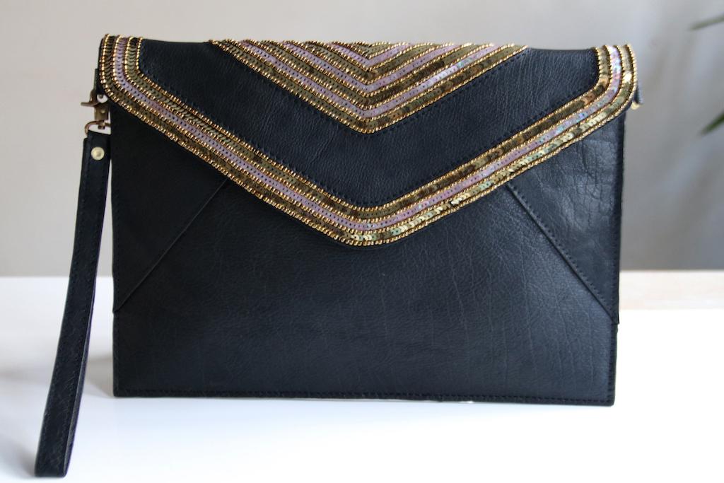 Risa Leather Clutch