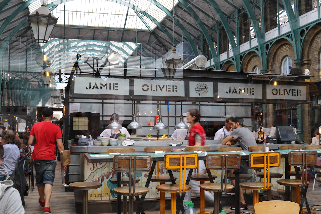 Jamie Oliver restaurant in Covent Garden Market copy