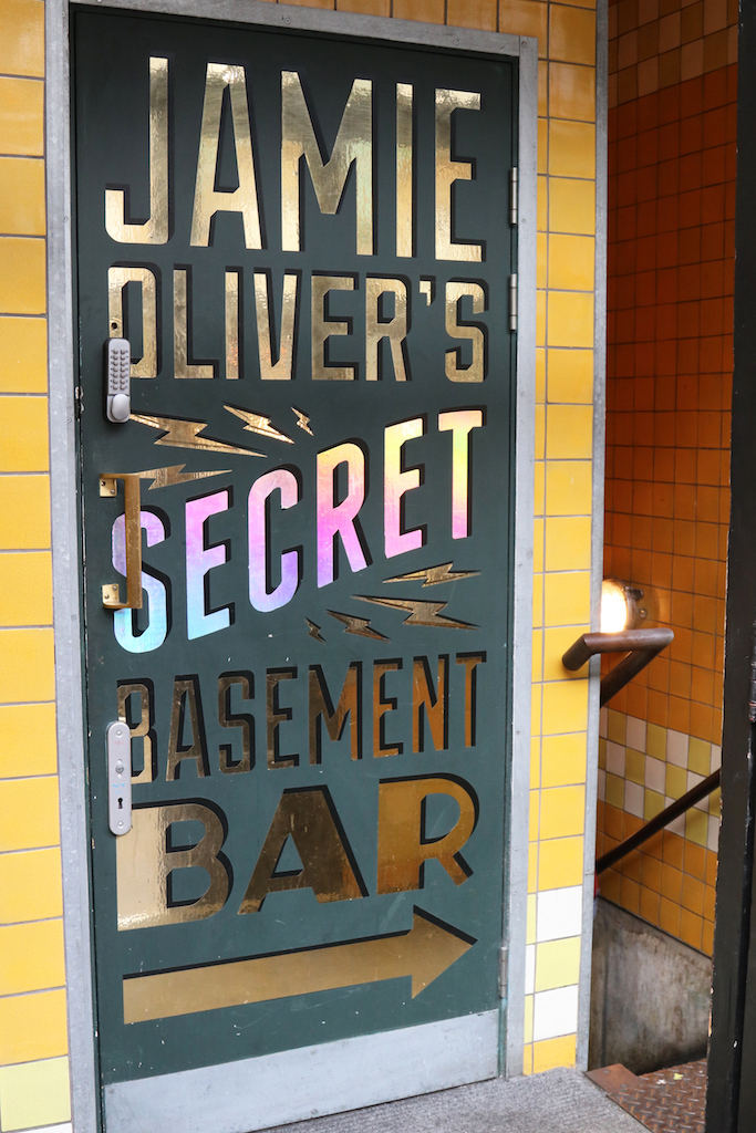 Jamie Olivers Secret Bar entrance copy