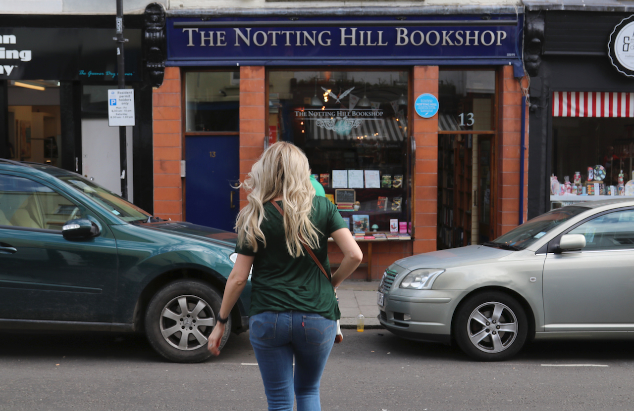 The Nottinghill Book Shop copy