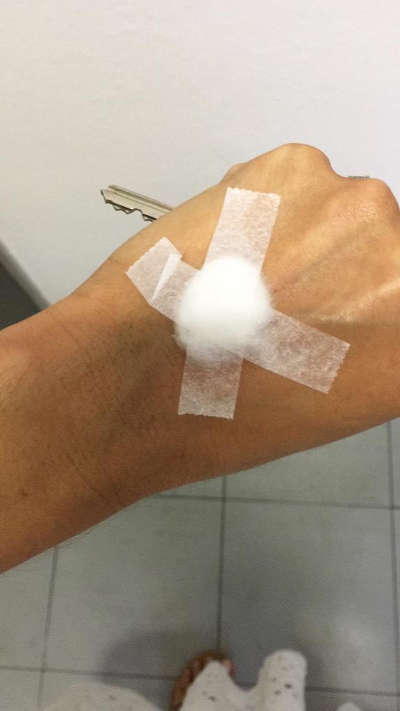 Blood test Friday