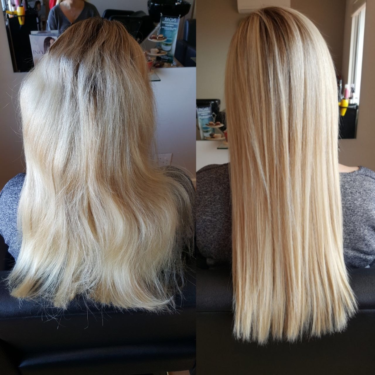 Vanilla Blonde Botox For Your Hair Vanilla Blonde